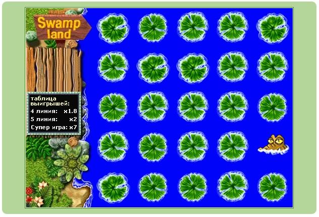 игра Swamp Land на Игруне